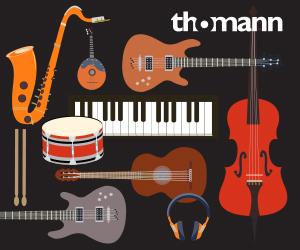 Werbung: Musikinstrumente Onlineshop