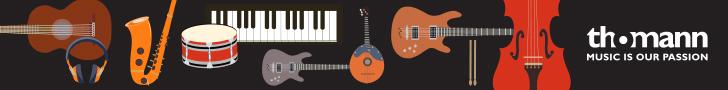 Anzeige: Thomann.de - Musikinstrumente Onlineshop